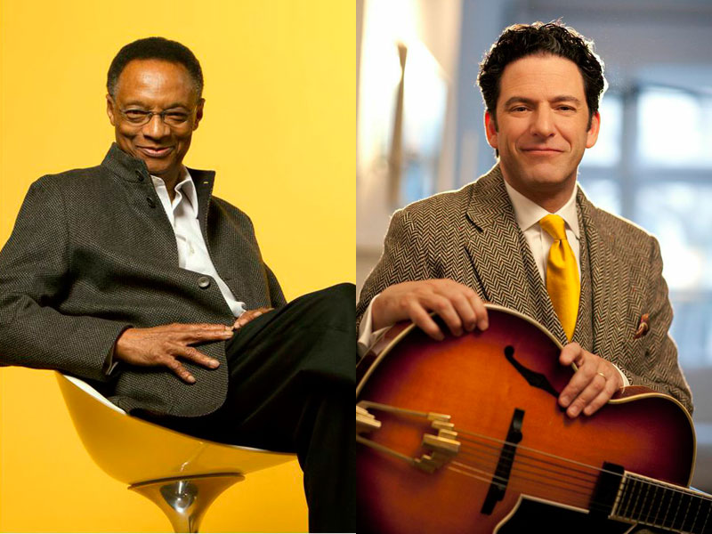 Ramsey Lewis and John Pizzarelli: Nat King Cole Tribute – 4.4.15