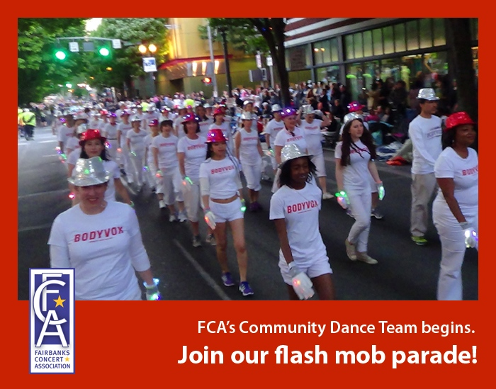 Get your dance on Fairbanks!